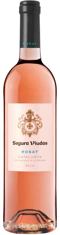 Wine bottle Segura Viudas Rosat Catalunya