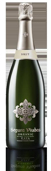 bottle of Organic Brut